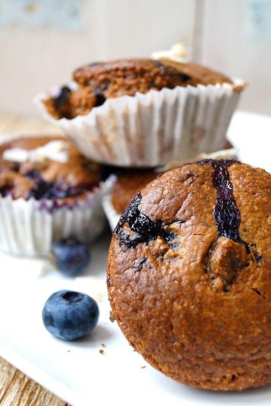 havermout bosbessen cupcakes -Cosmopolitan.nl