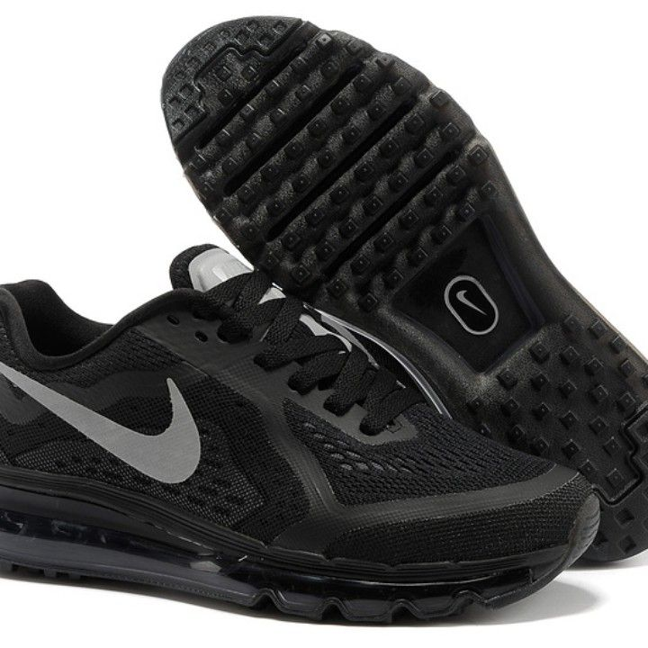 Nike Air Max 2014..Men Shoes...black/dark grey/silver from Big Country Sports And Outdoors for $155.99 on Square Market