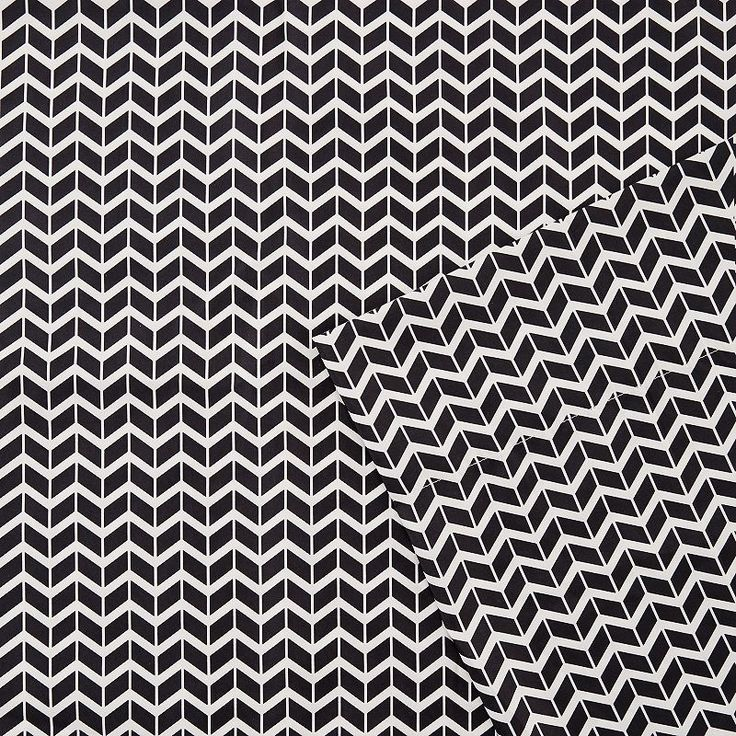 Intelligent Design Chevron Sheets, Black Twin Xl