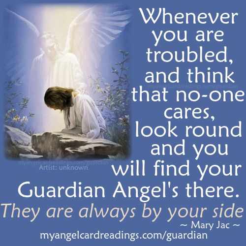 Discover your Guardian Angel - Your Guardian Angels name - Guardian Angel Prayer - Guardian Angel image quotes