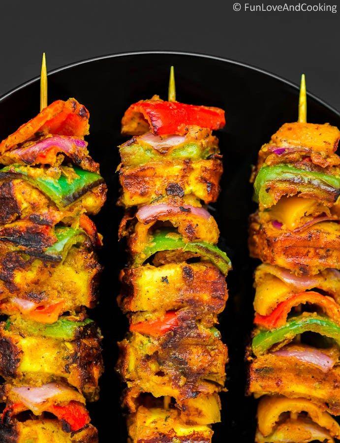 Paneer Tikka - Fun Love and Cooking