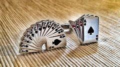 Lucky Lady Luck Charm Cufflinks
