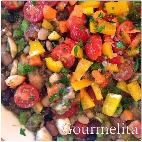 Gourmelita: Σαλάτα Οσπρίων