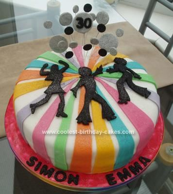 I'm hoping if I perfect my cake decorating skills Marcie will let me do her 1972 Birthday Party cake.  Something like this but with a disco ball.  @marcie marshall Brewer
