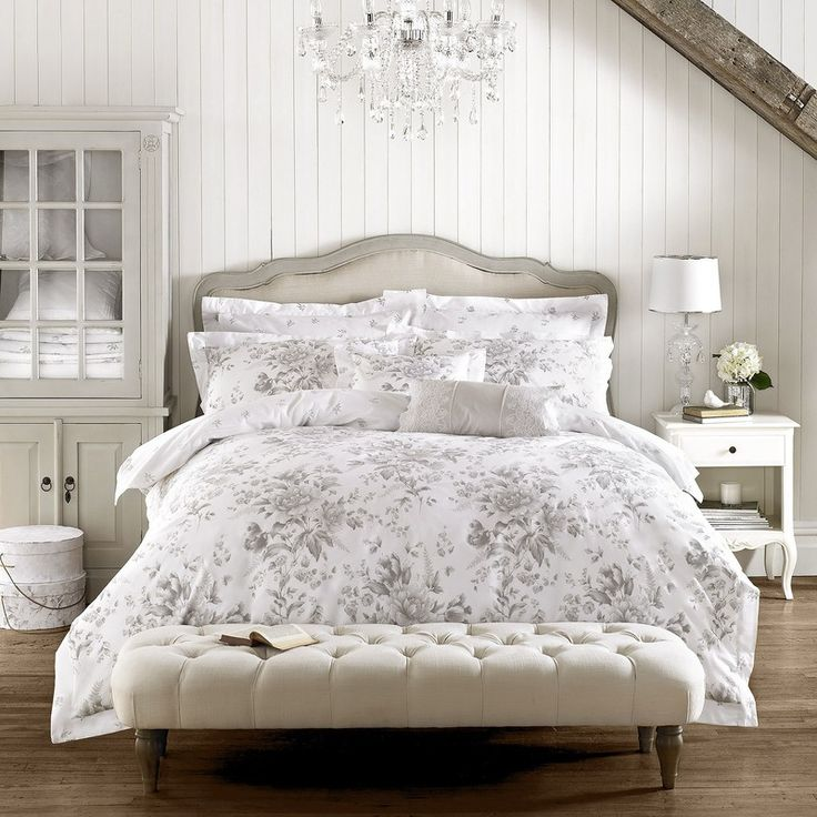 Holly Willoughby Ruby Bedding in Grey|Terrys Fabrics UK