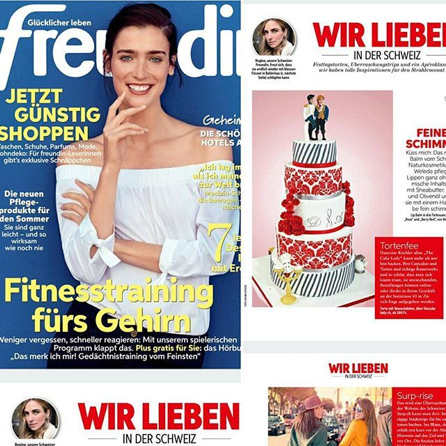Thank you again Freundin! 3rd time is a charm. Does that make me part of the family now @freundinmagazin??? LIKE what you see, drop a COMMENT below and FOLLOW  #weddingcake #bridal #weddingday #design #style #weddingplanner #foodblog #foodblogger #instafood #eventplanner #concierge #luxury #couture #spring #foodphototpraphy #zurich #switzerland #hochzeitsplaner #foodstyling #wedding  #weddingcake #gaywedding  #lgbt #weddingphotography #hochzeit #hochzeitstorte #partyplanner #bridal #zurich…