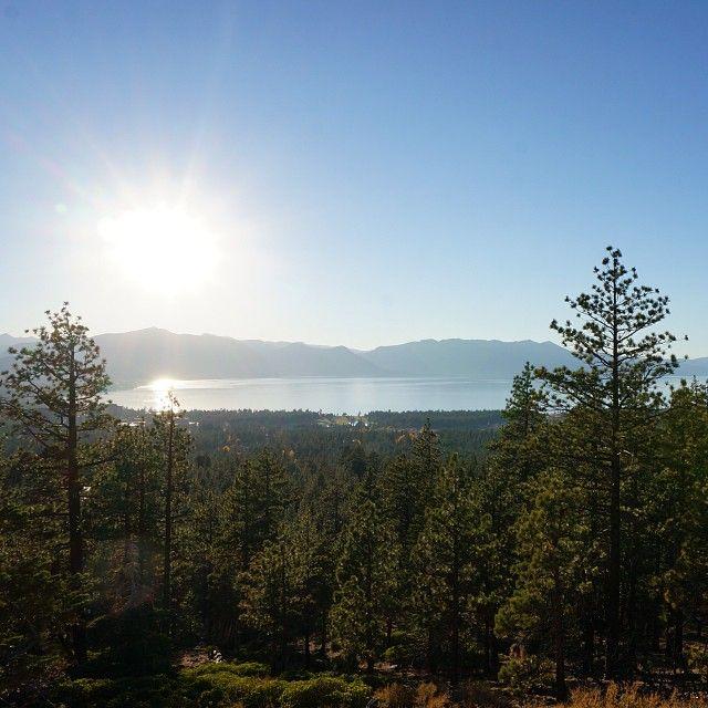 Beautiful view in Lake Tahoe☀️ #beautiful #view #laketahoe #nature #nevada