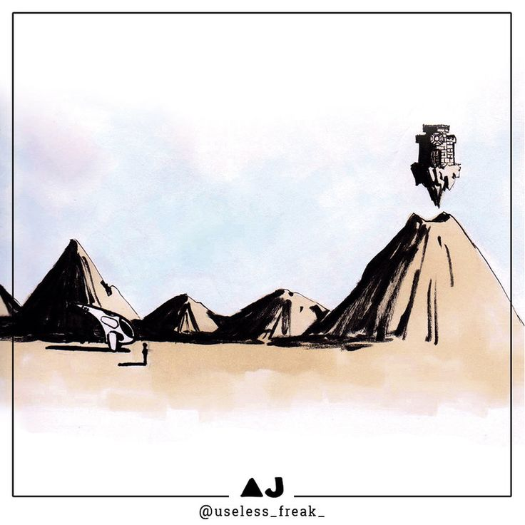 the Flying Castle #FlyingCastle #doodle #illustration #drawing #art #ARTwork #comicART #mixedmedia