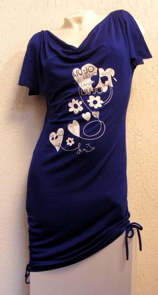 Liu Jo Dress Blue Wonderland