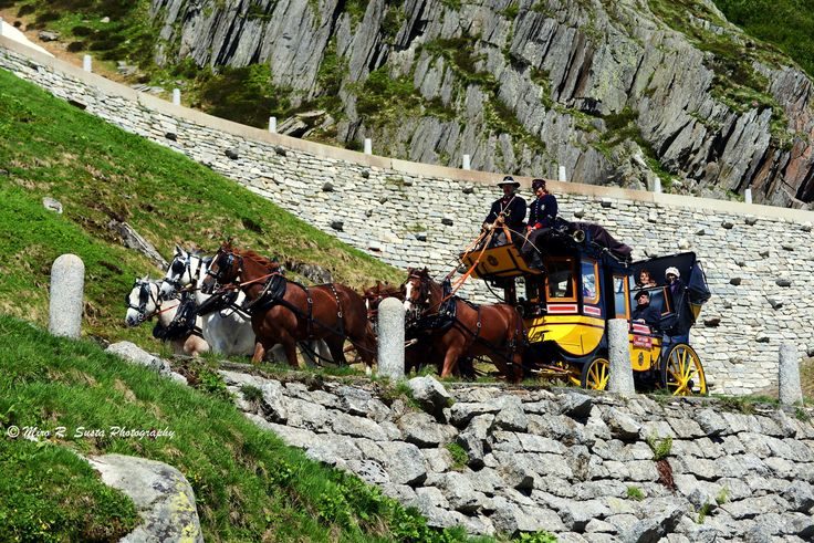 St. Gotthard Carriage - Another photo from my holiday journey across the Switzerland from St. Gotthard Pass.The Gotthard Pass (2,091 m a.s.l.) which connects the cantons of Uri and Ticino is located between the mountain massifs of Pizzo Lucendro and Pizzo Centrale. The pass lies on the most important route between Italy and Germany. It is the most direct link between Zurich and Lugano. The nearest towns are Hospental (7 km north) near Andermatt and Airolo (4 km south). The region of…