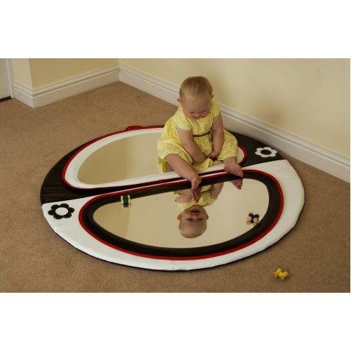 Mirror - Black and White Mirror Baby Pad