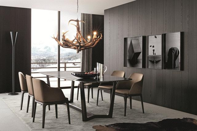 POLIFORM: Concorde table and Grace chairs