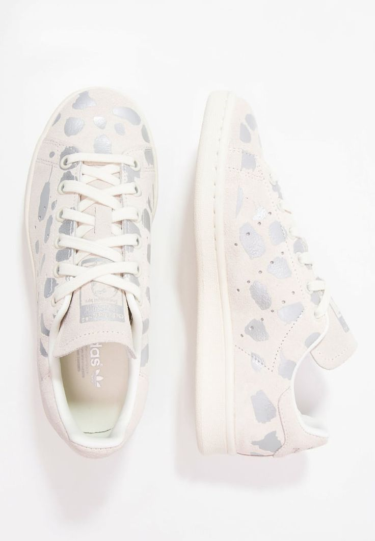 adidas Originals STAN SMITH  Trainers  offwhitesilver metallic for with  free delivery at Zalando