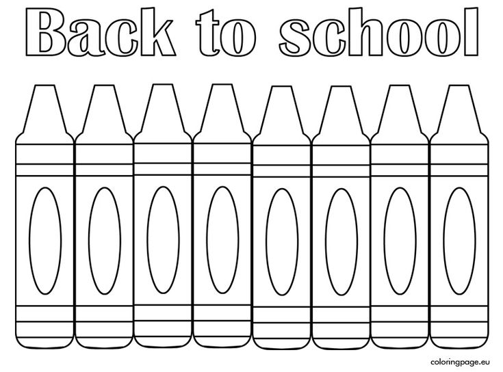 back to school coloring page free printable