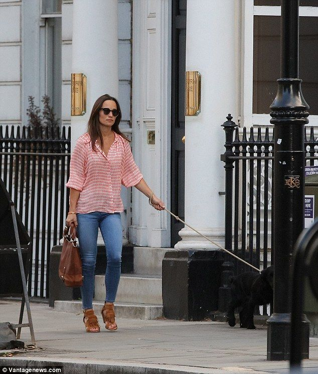 Pippa's appearance - her fifth since announcing the news - comes after it was revealed by ...