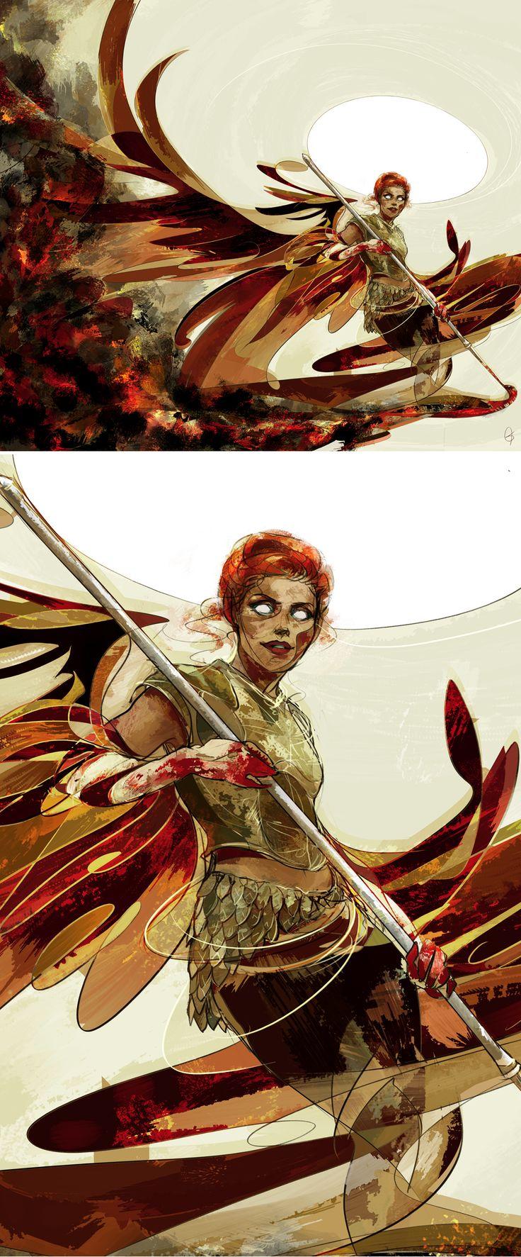 Abaddon an angel of destruction by anobviousaside #spn