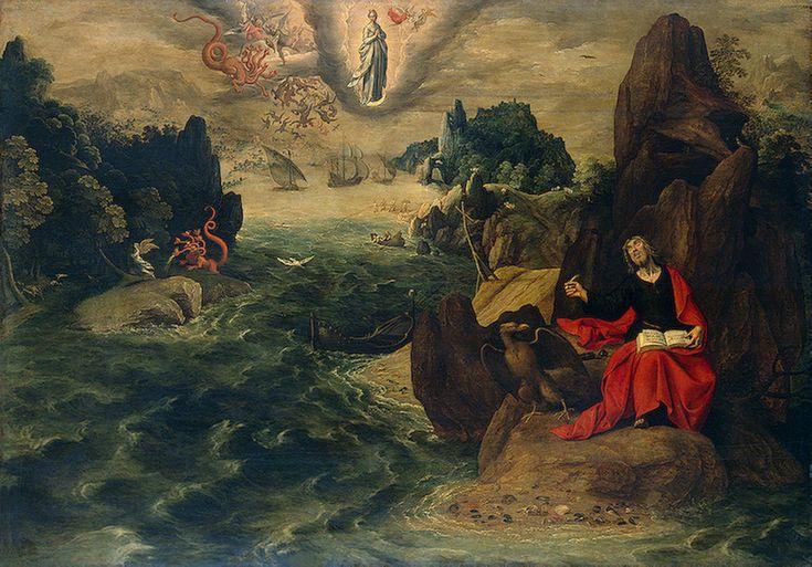 St John the Evangelist at Patmos (Tobias Verhaecht) - Tobias Verhaecht - Wikipedia, the free encyclopedia