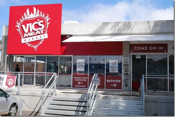 Vic's Meat Market has now opened an outlet at Sydney Fish Market to offer complementary red and white meat products among the legion of seafood retail stores.