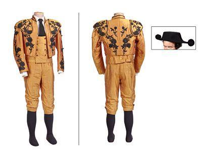 Costume: Picador from Carmen   Joachim Rice Johansen / Anders Fagernes. Str. 52    Silk vest, knee length pants, jacket and hat.