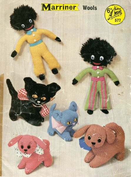 The 73 Best Vintage Knitted Toys Images On Pinterest Vintage