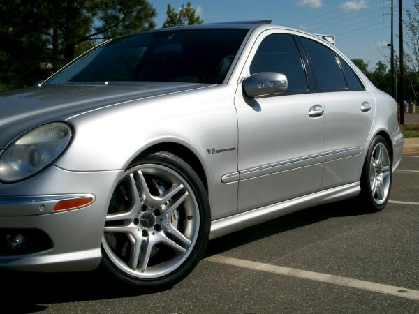 gotta get me one of these...  Mercedes AMG E55  469hp with luxury and style