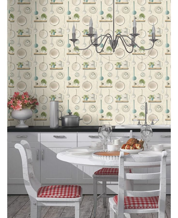 57 best hout behang images on pinterest for Quirky kitchen items