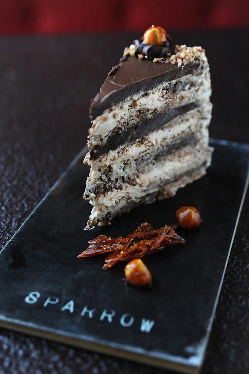 ... chocolate glazed hazelnut mousse cake chocolate and hazelnut meringue