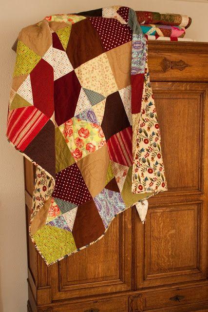 Flanellen quilt