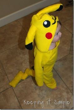 DIY Pokemon Pikachu Costume (16)                                                                                                                                                      More