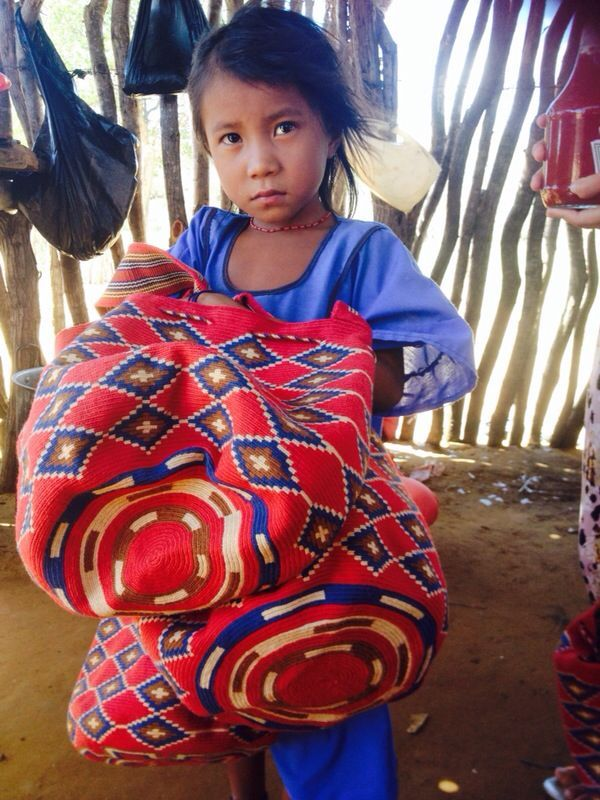 Our Wayuu Mochila Bags collection includes a very careful selection of these handcrafted mochilas as we work directly with the Wayuu families that weave these famous bags. Shop at http://www.acrossthepuddle.com/jewelry/handbags