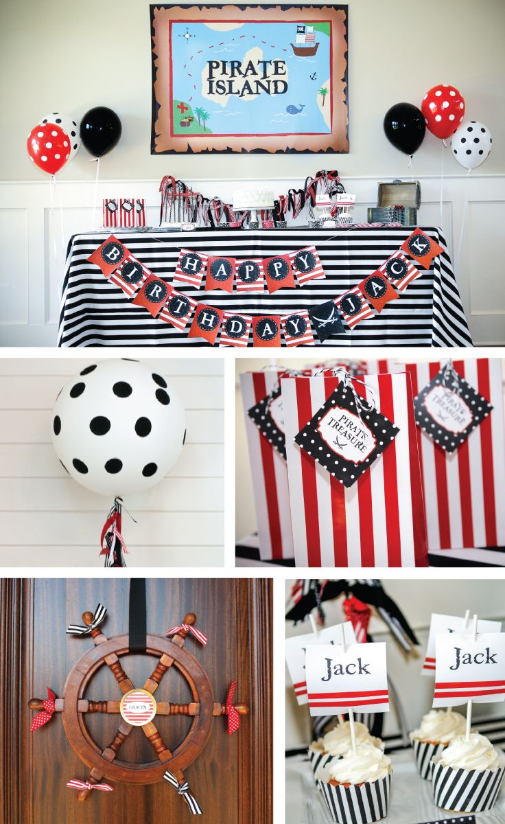 Everything you need for a pirate party in a box | It's a Pirate's Life for Me Hostess Kit undercoverhostess.com