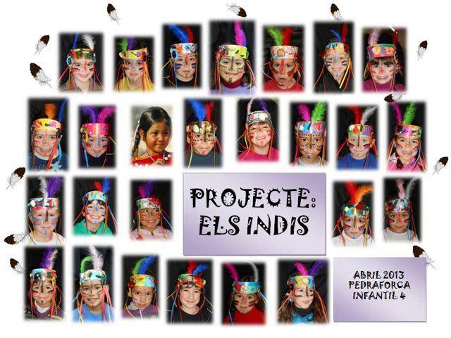 EI 4anys – Projecte Indis  Escola Bàrkeno  Xulíssim, tret del google