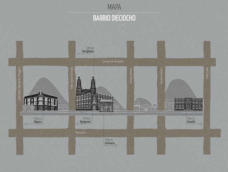 Mapa, Barrio 18- Rescate patrimonial
