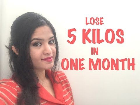 LOSE 5 KILOS IN ONE MONTH CHALLENGE !!! - YouTube
