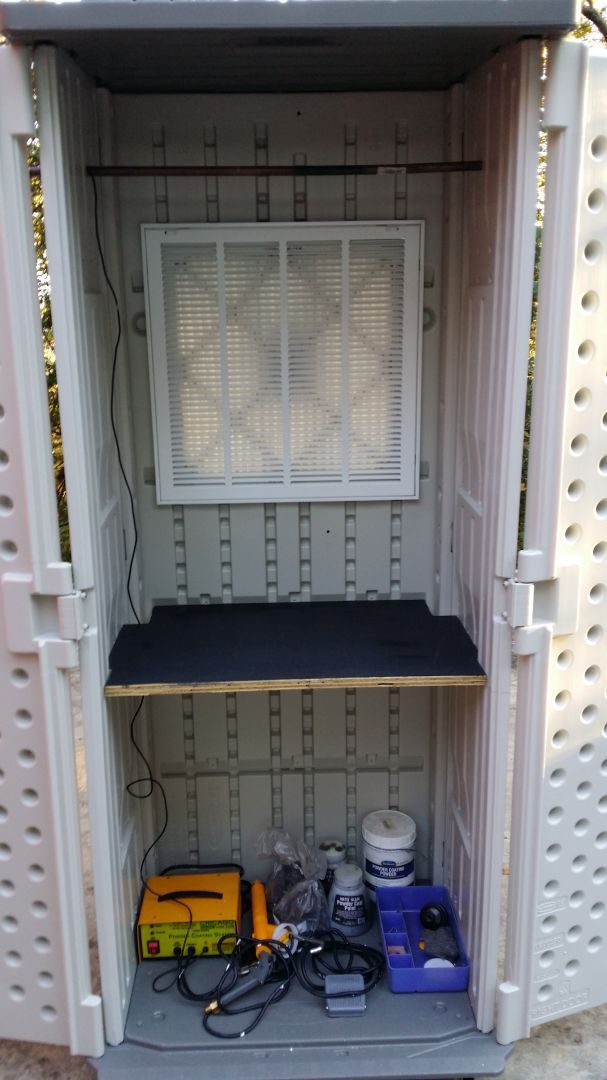 A quick and simple DIY Powder Coat Spray Booth - KLOV/VAPS Coin-op Videogame, Pinball, Slot Machine, and EM Machine Forums - Hosted by Museum of the Game & IAM