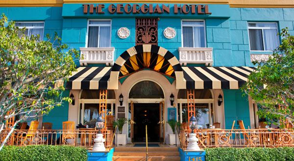 With fabulous style which carries through to the rooms, the Georgian Hotel is  a must-stay within close proximity of Venice Beach and Santa Monica Museum of Art. #BoutiqueHotel https://stayful.com/los-angeles-hotels/georgian-hotel