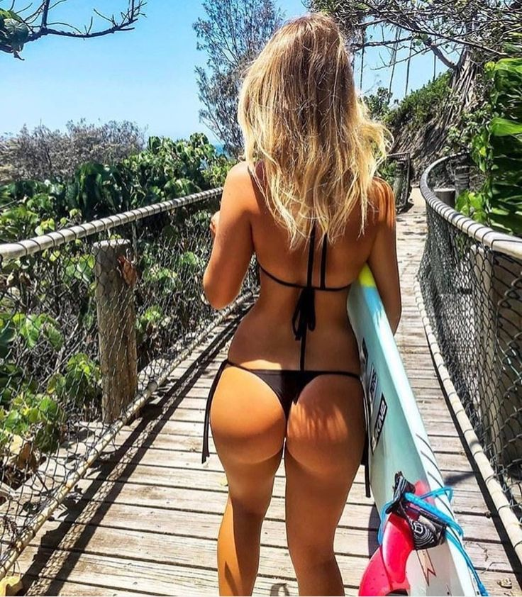 Thong Is Visible Inside Petite Ass Crack Free Photo With Unknown