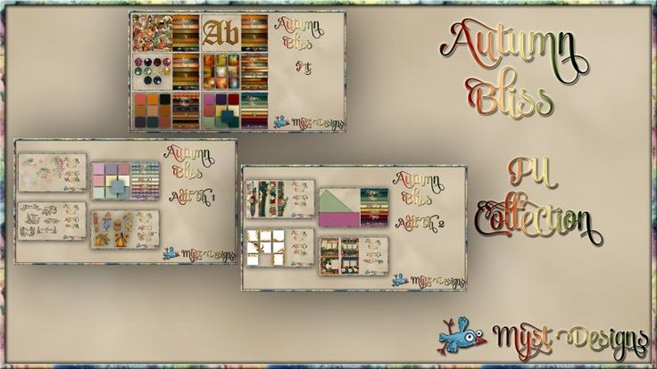 Autumn Bliss - PU Collection