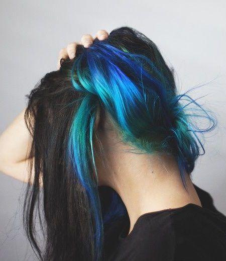 zelo blue hair 2017 - photo #45