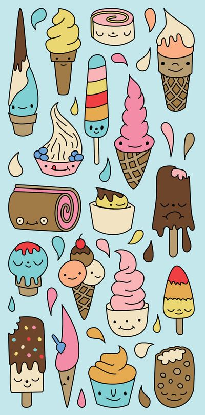 Icecream pattern