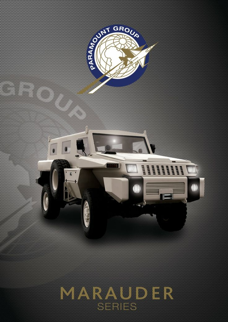 the marauder truck | Monstrous Paramount Marauder Armored Vehicle to Star in First Episode ...