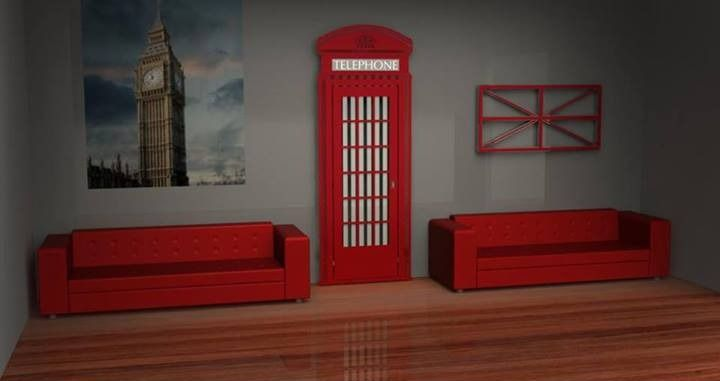 Is it a Bird? Is it a Plane? No... It's a Radiator in the shape of a Red Phone Box.  #superman #phonebox #toso #radiators
