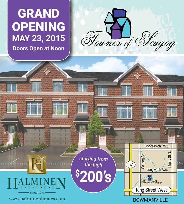Ad design for Halminen Homes