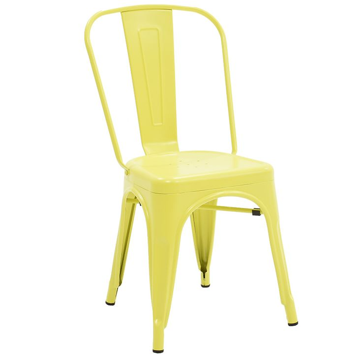 Chair Utopia metal yellow