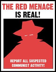 Anti-Communism propaganda.. This is telling you that communism is bad. Also it says to report communist activity.