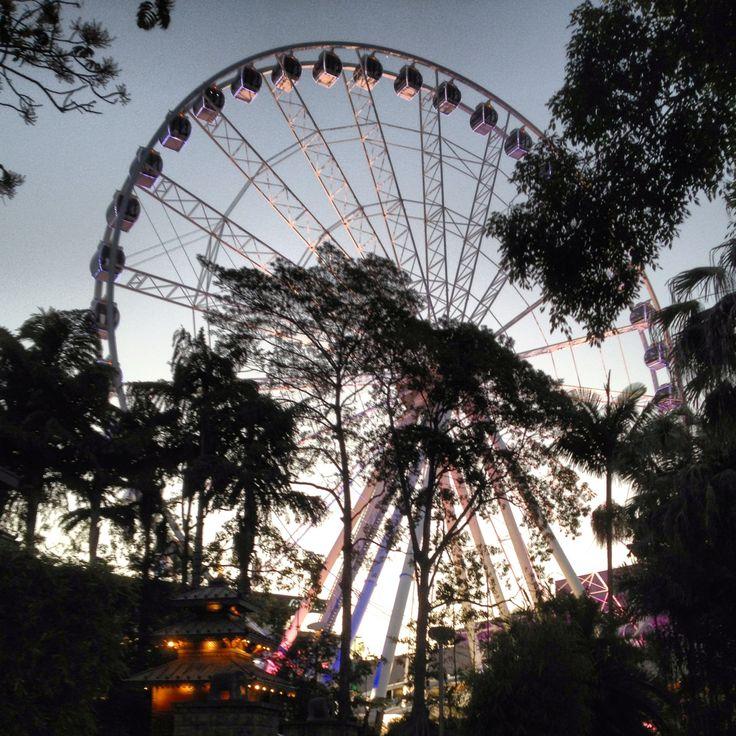 The Eye of Brisbane, Southbank,  Queensland, Australia
