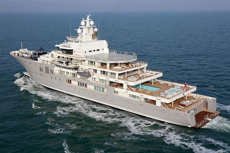 "Ulysses Yacht - 352' 6"" (107.42m) -  $195.0 million"