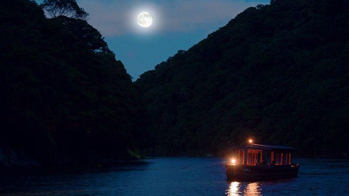 月灯りの音楽舟 星のや京都