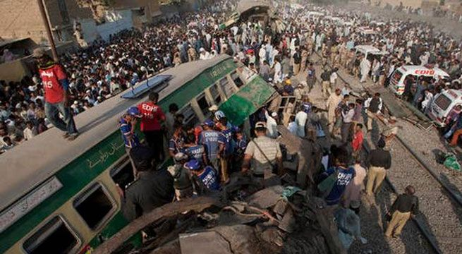 20 Killed in Deadly Karachi Train Accident   At least 20 people have died and over 50 have been seriously injured in a train crash in Pakistan local media said.  Two trains collided early on Thursday morning near Landhi railway station in the southern city of Karachi.  Initial reports said that one of the trains had been given the wrong signal and at least two carriages had overturned following the crash.  But railway official Nasir Nazeer said the collisions cause could not yet be…
