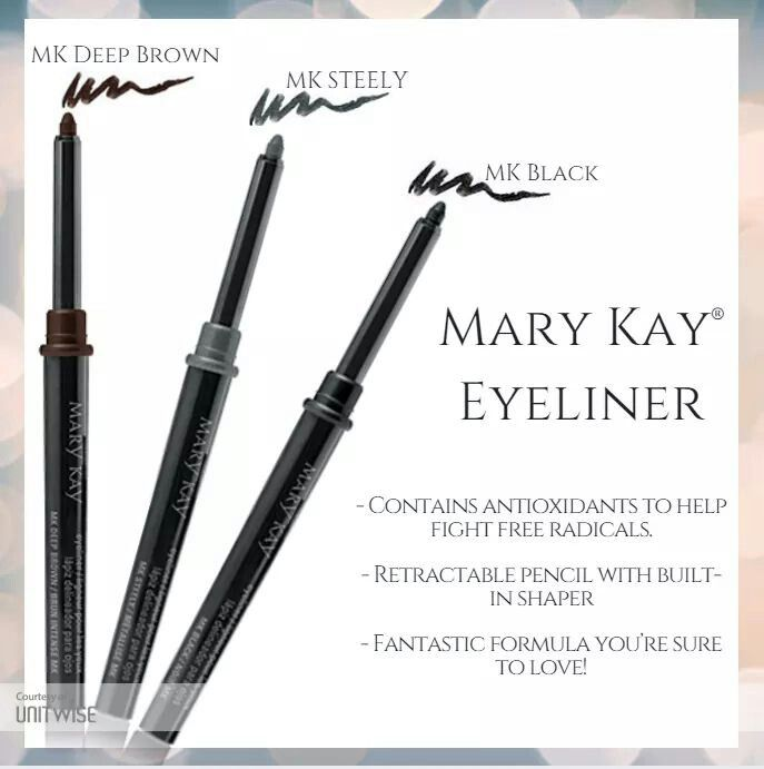I have tried so many different  eyeliners, cheap ones from drug stores to  expensive Chanel eyeliner and I must say this Mery Kay one so far so good.